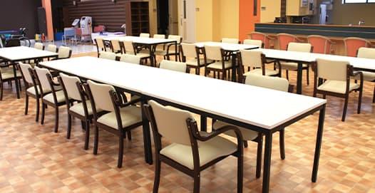 食事・作業スペース